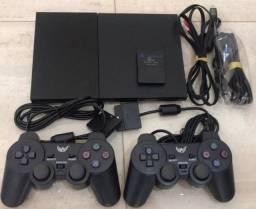 Playstation 2 Slim - Completinho