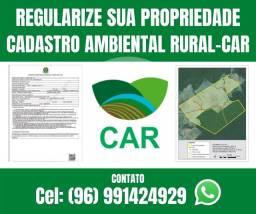 Regularize seu terreno - Faça seu Cadastro Ambiental Rural - CAR