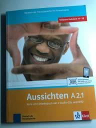Aussichten.Teilband A2.1 - Kurs- und Arbeitsbuch ( seminovo)