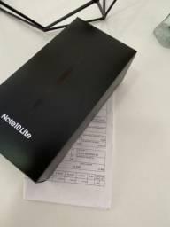 PROMOCÃO | Samsung note 10 lite | LACRADO | Nota e garantia | ESTUDO TROCAS