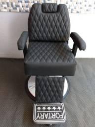 Cadeira fortary pra barbearia.