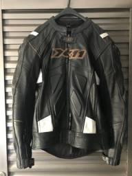 Macacão X11 Speed Couro Motos 2 Peças Masculino