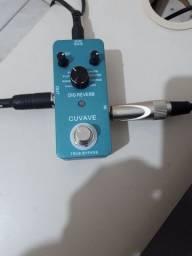 Pedal reverb para guitarra novo na caixa