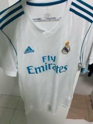 Camisa do real madrid original com nome