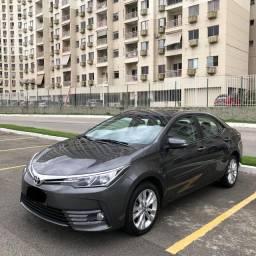 Corolla xei 2018 Automático Apenas 40.000 kms Gnv 5º na garantia segundo dono