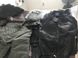 Jaquetas para motoqueiros masculina e feminina