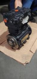 Compressor Ar Motor International 9800 Bendix Tuflo 750 novo
