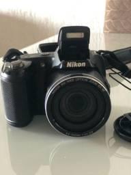 Câmera Nikon L810 - troco por notebook ou netbook