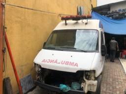 Jumper 2013 doc ok ambulância furgao teto alto longa