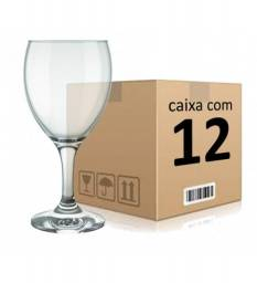 Conjunto com 12 taças para vinho tinto 250 ml