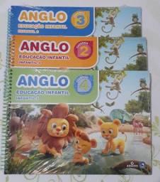 Apostilas Anglo educação infantil.