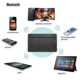 Teclado Bluetooth Sem Fio Portátil Mini Slim Promoção