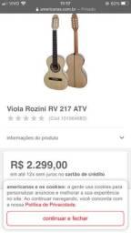 Viola Rozini Dourada RV217