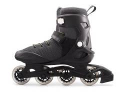 patins n°42 com kit de proteção impact