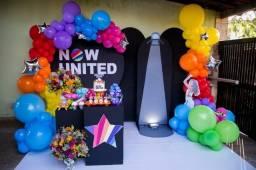 Decoração Now United Niterói