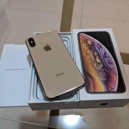 iPhone Xs Max 256gigas na cor Gold