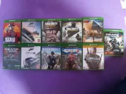Lote de games Xbox one