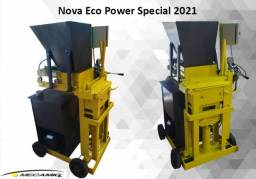 Prensa Hidraulica semi automatica para tijolo ecologico Eco Power Special