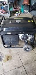 Gerador Matsuyama gasolina 6500 partida elétrica R$2,000