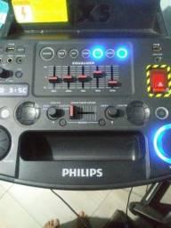 Título do anúncio: Caixa phillips Bluetooth amplificada
