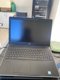 NoteBook Dell Inspiron i7 8gb RAM 2TB HD