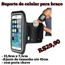 Suporte de celular para braço