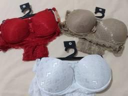 Conjunto de lingerie.
