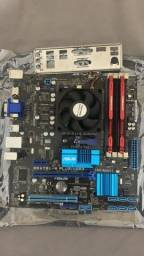 Kit Upgrade FX 6300 Placa Mãe AM3 8gb ram