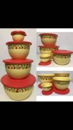 Estou vendendo todas as vasilhas da Tupperware por apenas 150