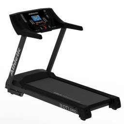 Esteira elétrica Athletic 3.0ti Profissional - 150kg -  pronta entrega - simula ladeira