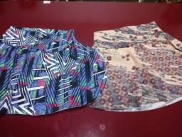 Saias shorts
