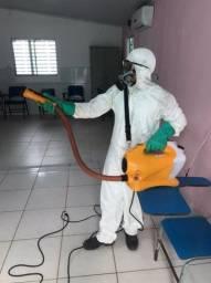 Sanitização Desinfecção de Ambientes