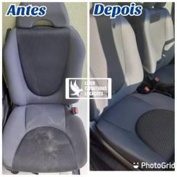 Higienizacao interna de veículos