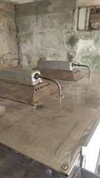 Forno proficional com pedra a gás