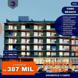 Apartamento para Venda em João Pessoa, Cabo Branco, 2 dormitórios, 1 suíte, 1 banheiro, 1