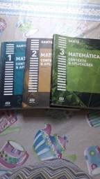 Kit livros de matemática ensino médio 3vol.