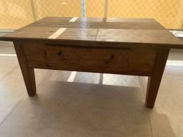 Mesa de centro - madeira de demolição