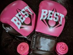 Luva de Boxe BEST - 12oz - Usada 2 vezes