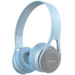fone de ouvido dobravel over-ear p2 tfh300 azul claro