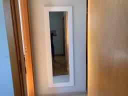 Espelho 162cm x 52cm com moldura