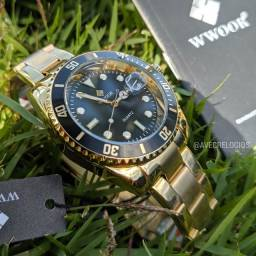 Relógio masculino Wwoor luxo