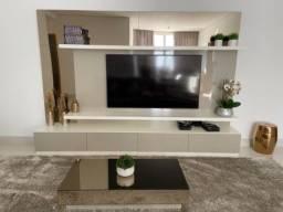 Home (Painel + rack) e mesa de centro