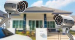 Instalação de câmeras de segurança e outros serviços