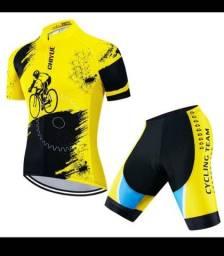 Conjunto para Ciclismo M - Novo