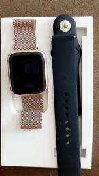 Smart watch Rose Gold. P80 novo