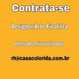 Contrata-se Designer/Arte Finalista com Experiência