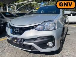 Toyota Etios 2018 Platinum sedan automatico multimidia GNV 5ª ipva pg