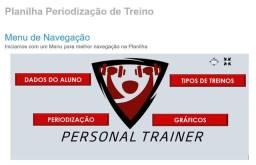 Planilha de Treino para você Personal Trainer