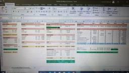 Planilha de Excel Financeira Estratégica