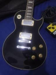 Guitarra Les Paul Strinberg Preta